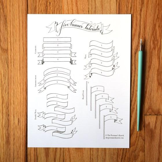Five Banner Tutorials | The Postman's Knock