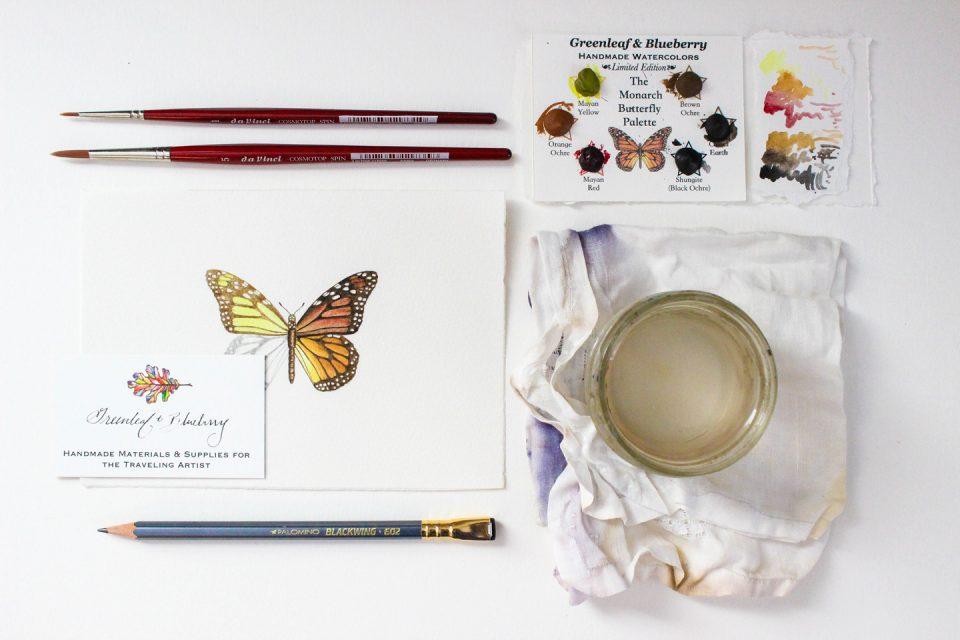 Creative Entrepreneur Interview: Greenleaf & Blueberry   The Postman's Knock