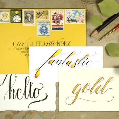 Four Hand Lettering Ideas to Try This Weekend