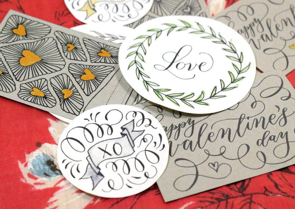 Hand Drawn Valentine S Day Gift Tags Free Printable The