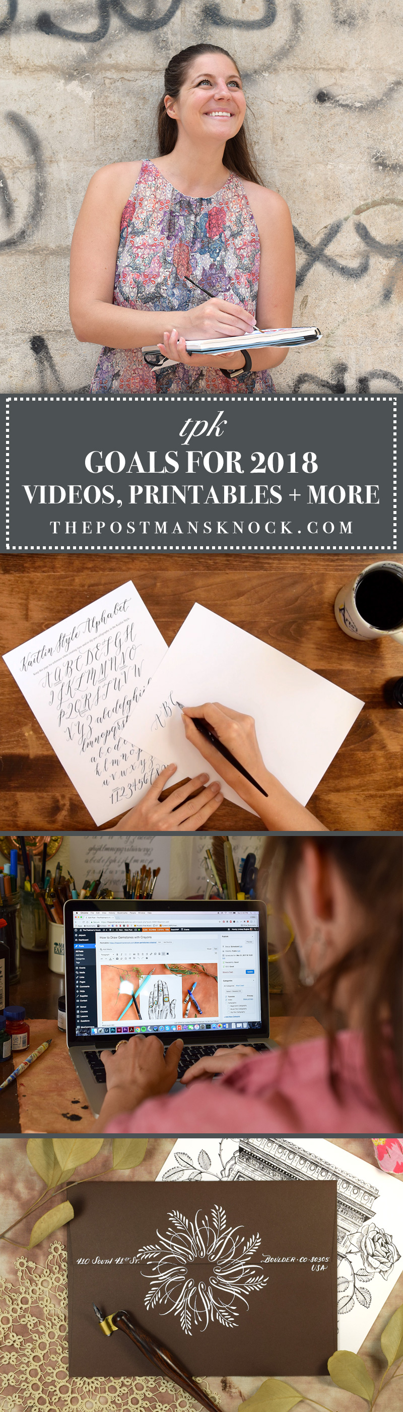 What I'm Working on in 2018 | The Postman's Knock