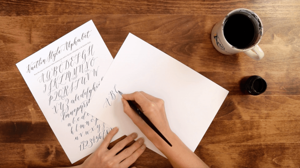Preview of Virtual Calligraphy Workshop | The Postman's Knock