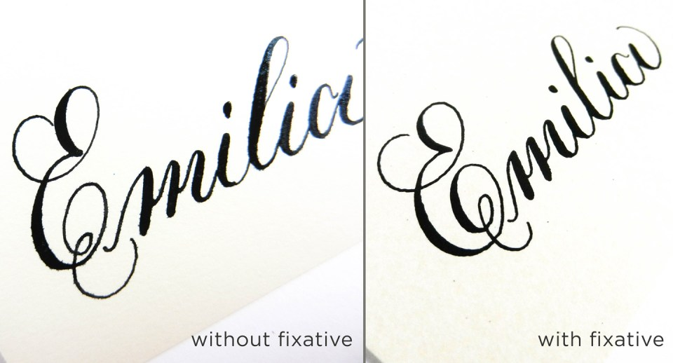 Help, My Calligraphy Ink is Bleeding!: 5 Ways to Fix This Common Issue | The Postman's Knock