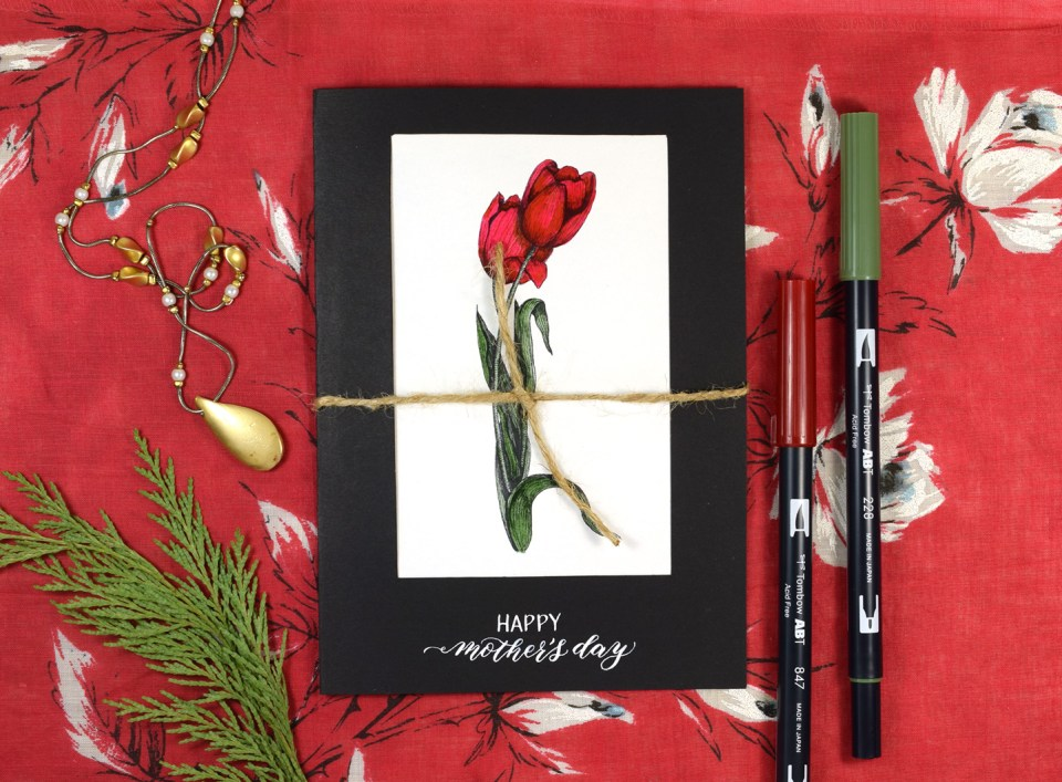 Quick Mother's Day Card Tutorial | The Postman's Knock