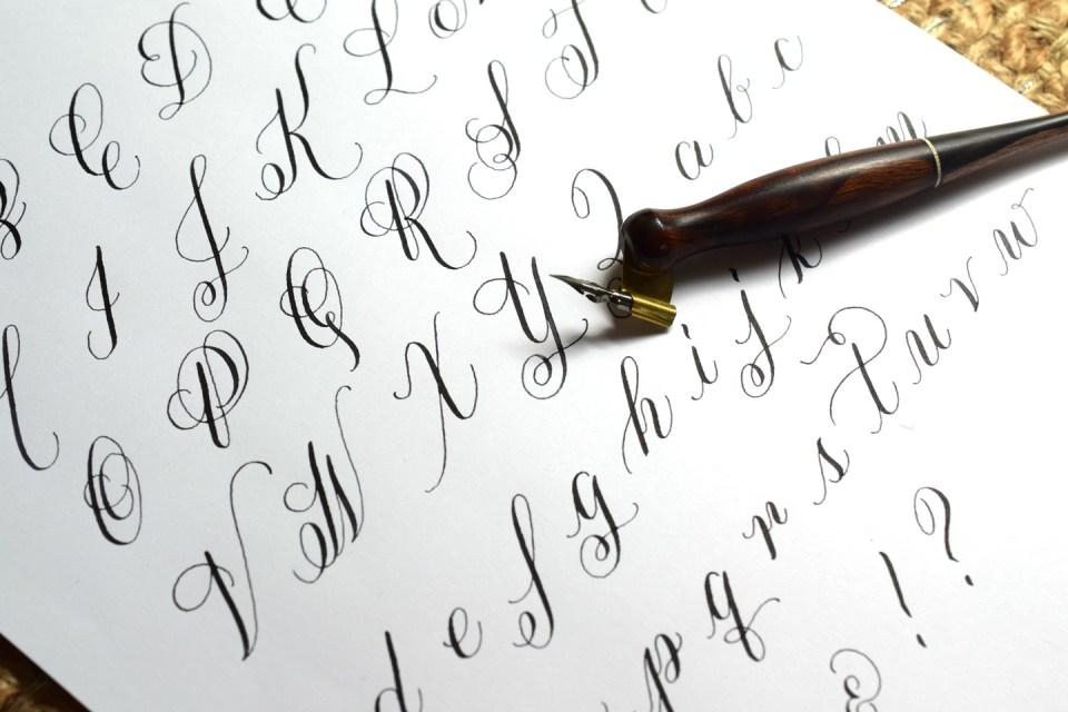 Calligraphy Exemplar | The Postman's Knock
