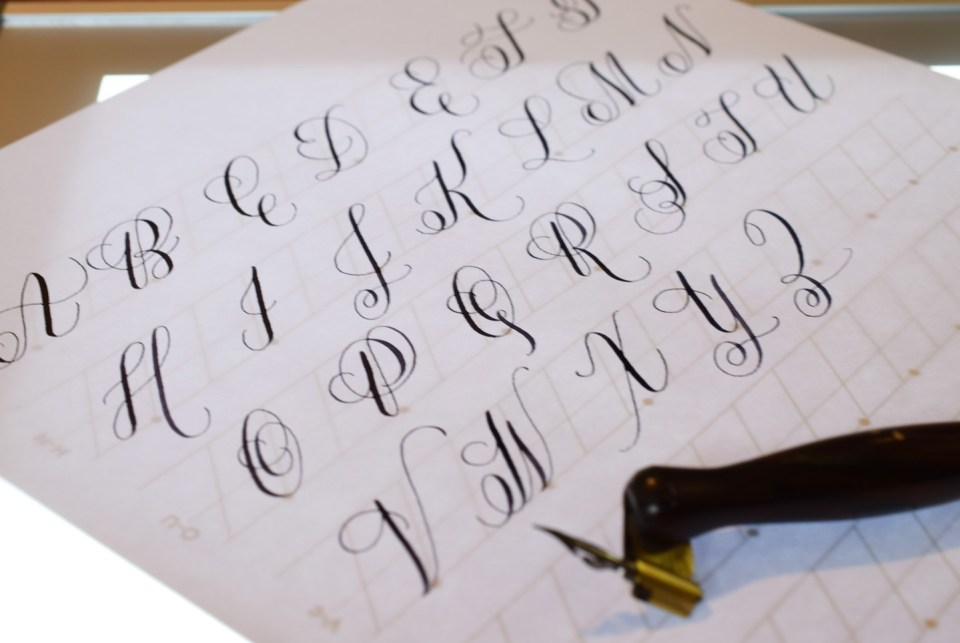How to Make a Calligraphy Exemplar | The Postman's Knock