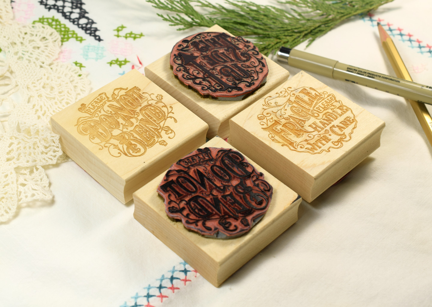 How To Make A Custom Rubber Stamp The Postmans Knock