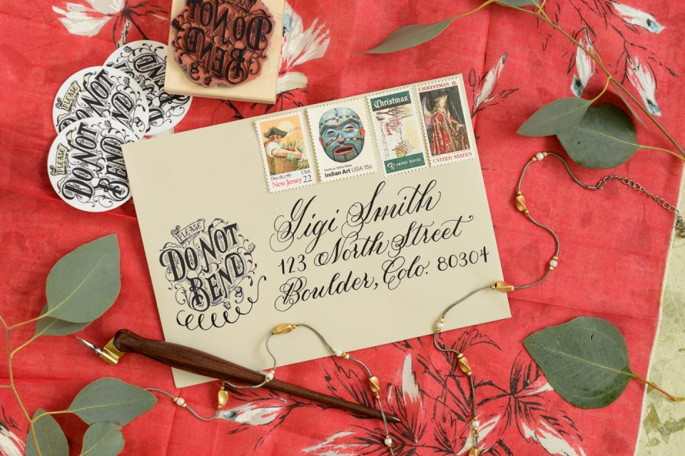 How to Make a Custom Rubber Stamp   The Postman's Knock