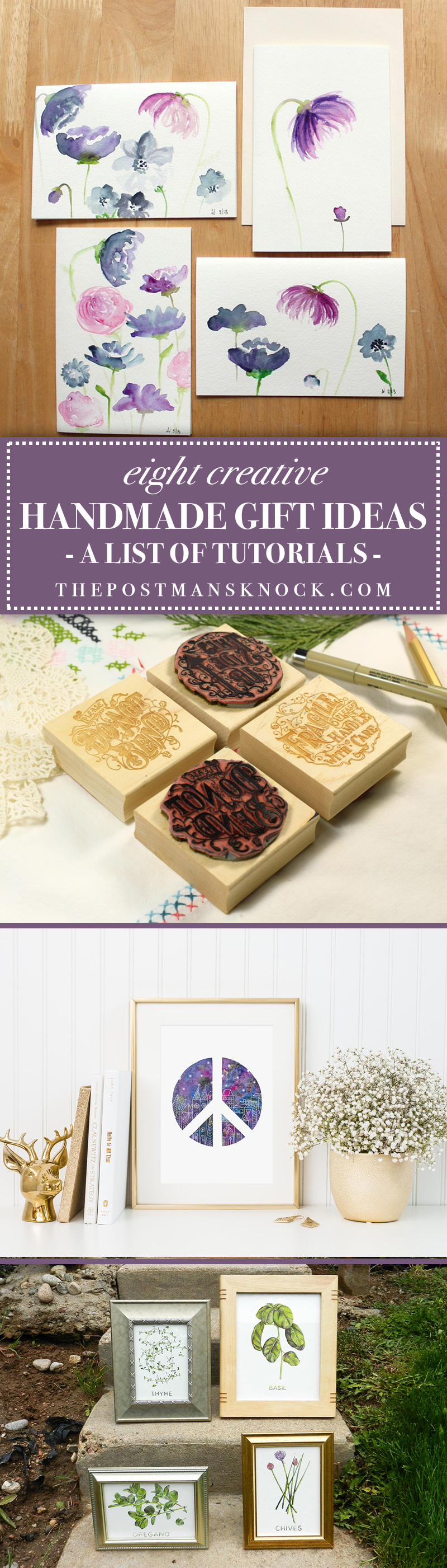 8 Creative Handmade Gift Ideas | The Postman's Knock