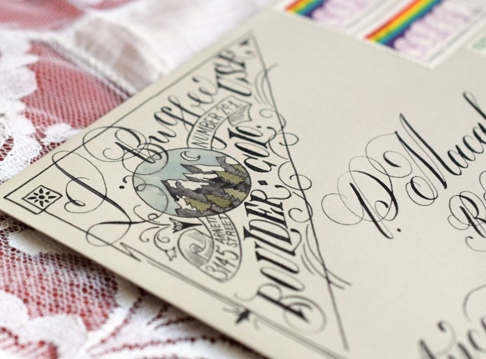 12 Artistic Envelope Ideas – The Postman's Knock
