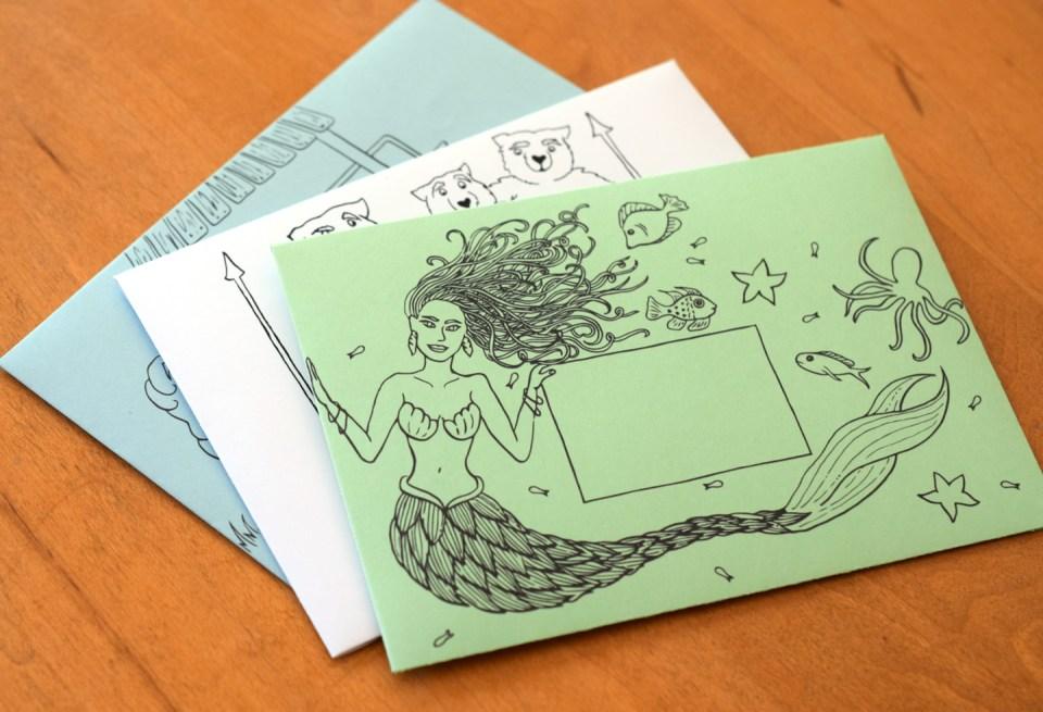 Fairytale Mail Art Envelopes | The Postman's Knock