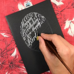 6 Tricks I Used to Learn Calligraphy Quickly | The Postman's Knock