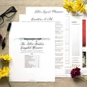 The Letter Writer's Complete Resource is a 28-page eBook/worksheet set with plenty of artistic printables!