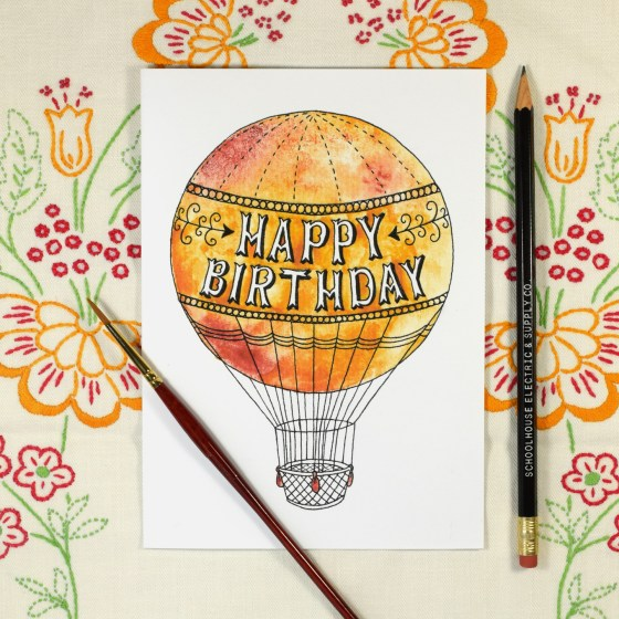 This freebie is a gift from me to you! Use iit next time you need to send someone a unique birthday card, but you're short on time.