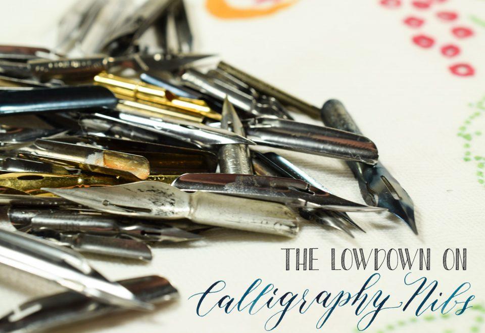 The Lowdown on Calligraphy Nibs   The Postman's Knock