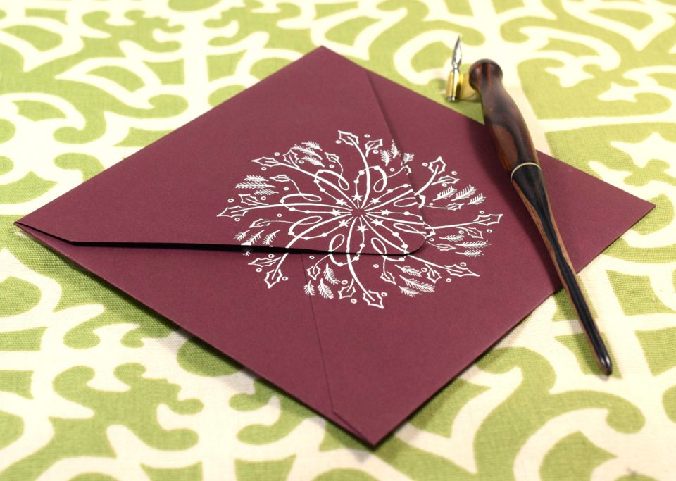 Holiday Envelope | The Postman's Knock