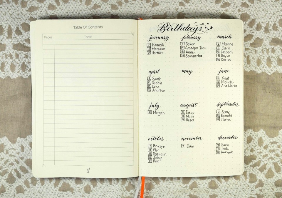 A Peek Inside My Hybrid Bullet Journal | The Postman's Knock