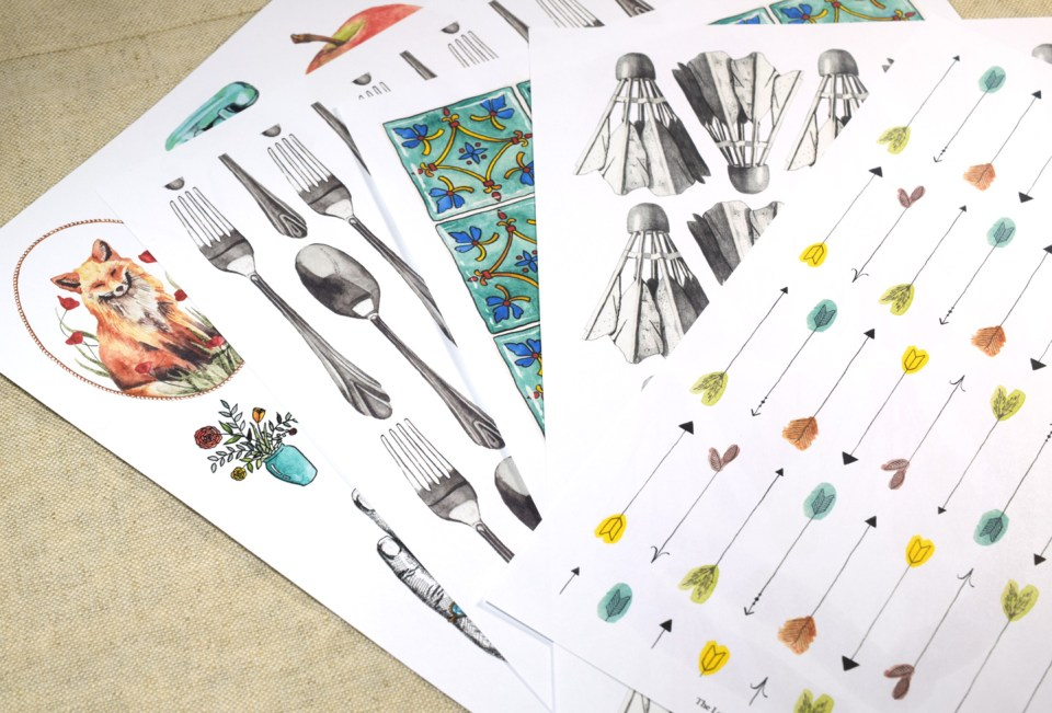 Printable Patterns from The Letter Writer's Complete Resource   The Postman's Knock