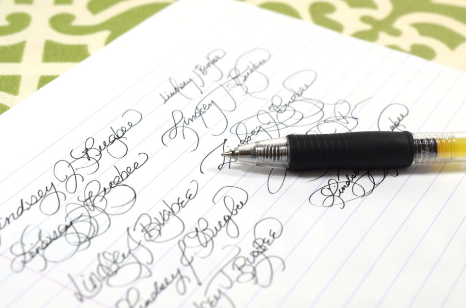 How to Improve Your Signature | The Postman's Knock