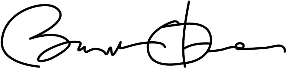 Barack Obama's Signature | The Postman's Knock