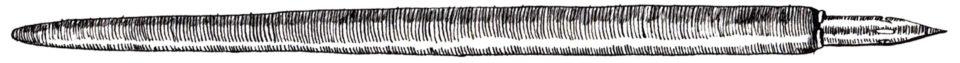 Straight Calligraphy Pen   The Postman's Knock