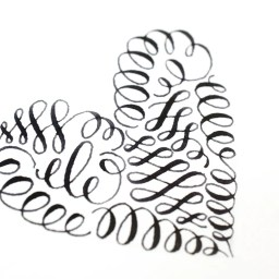 Calligraphy Art Tutorial: How to Make a Flourished ... Well, Anything! | The Postman's Knock