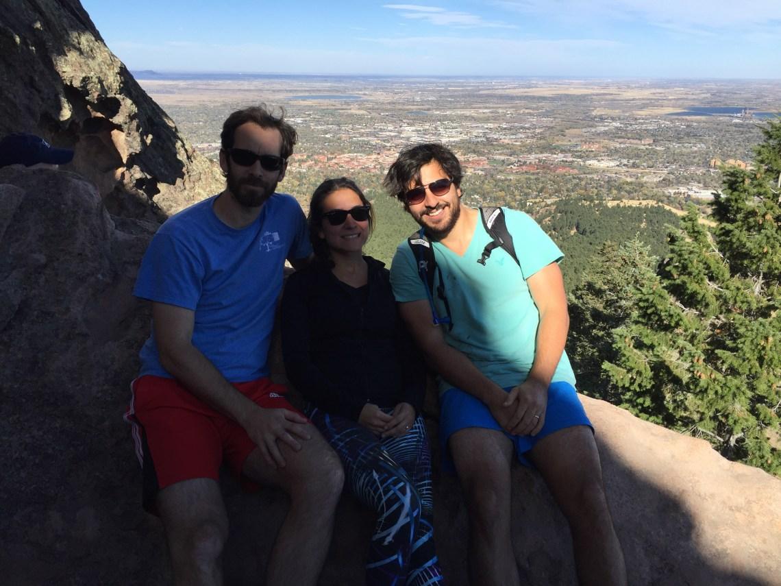 Enjoy hiking just outside of Boulder!