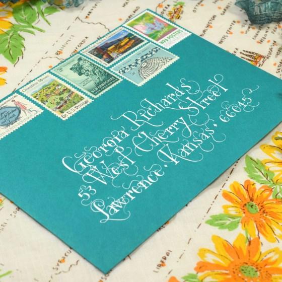Lasso Lettering loves mail art!