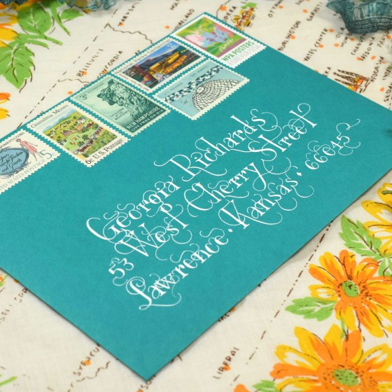 Lasso Lettering loves mail art!