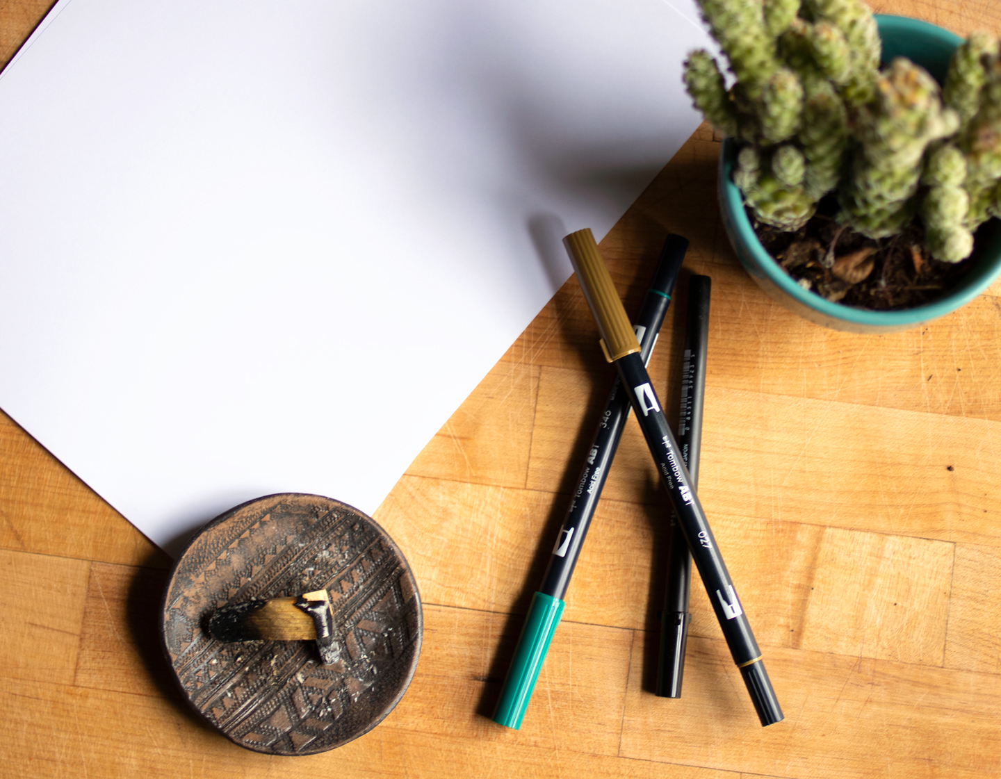 How I Conquered my Fear of Brush Pens | The Postman's Knock