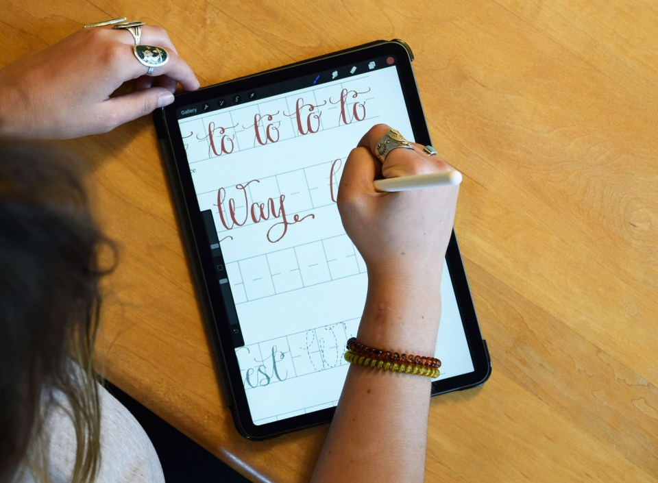 Classic Amy Style Calligraphy: A Limited Edition Worksheet