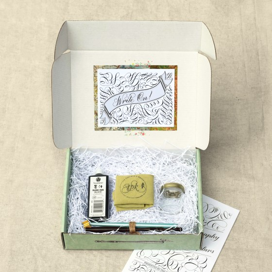 """Write On!"" - Each kit encourages and inspires you from the get-go!"