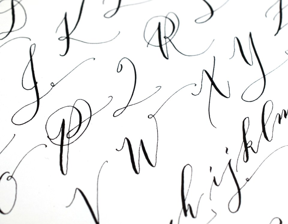 A Calligraphy Practice Reality Check   The Postman's Knock