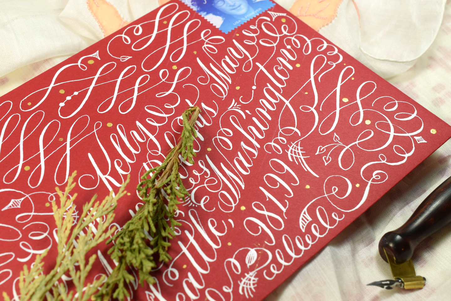 Among other things, TPK's Intermediate Calligraphy Course will teach you how to make flourishes with an organic flow!