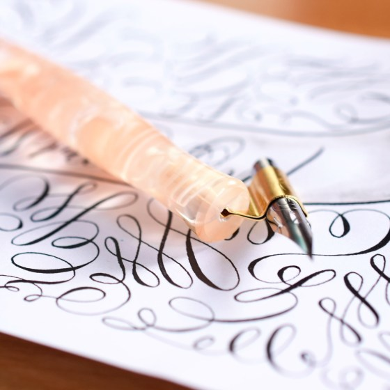 The pen is hand-fitted for a Nikko G or similar-sized nib.