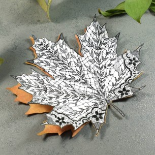 The project possibilities are endless with these maple leaf illustrations!