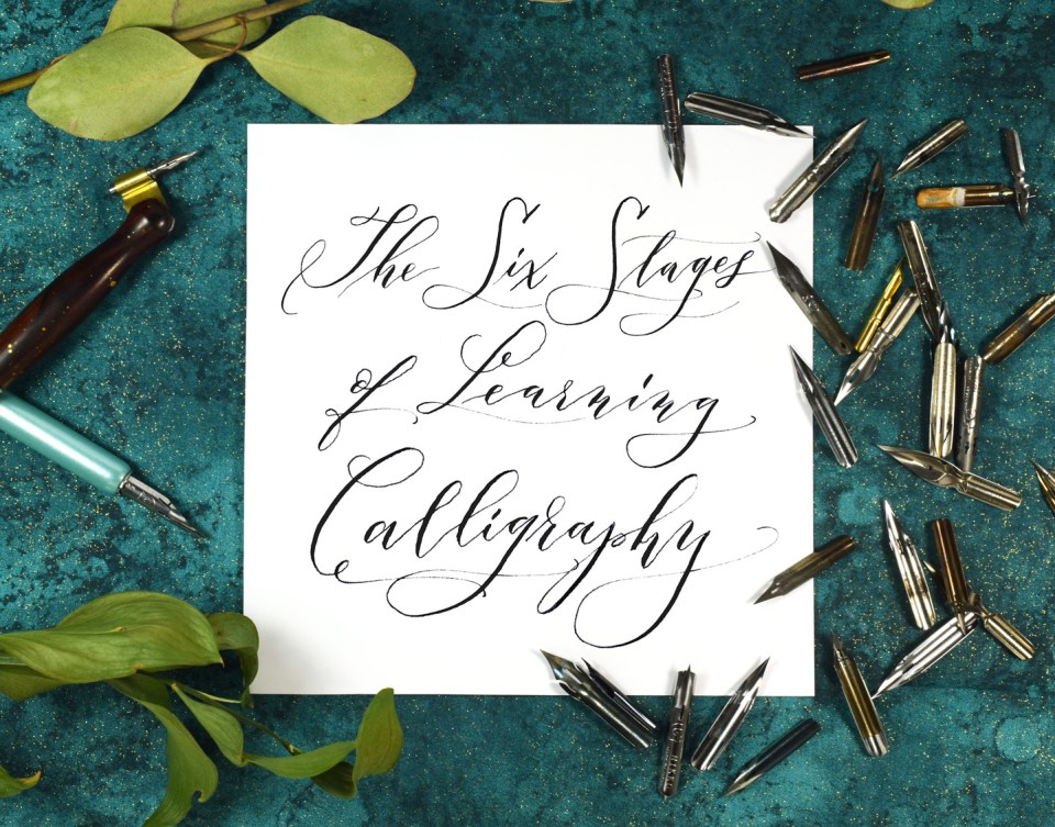 The Six Stages of Learning Calligraphy