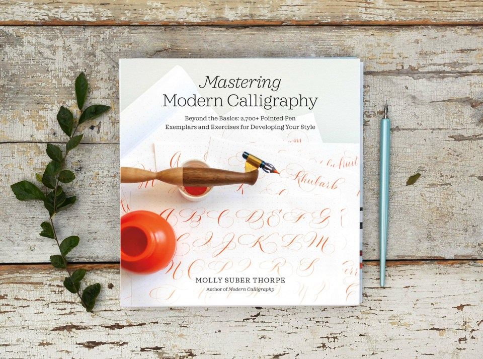 """Mastering Modern Calligraphy"" Book"