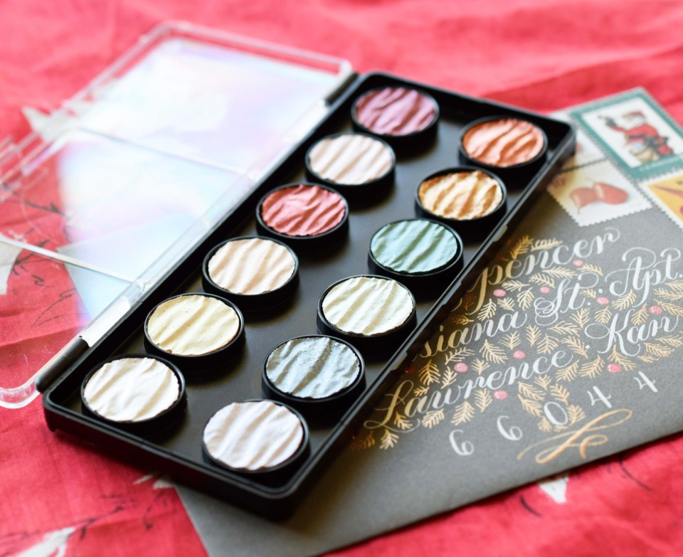 The Finetec Pearl Colors Palette!