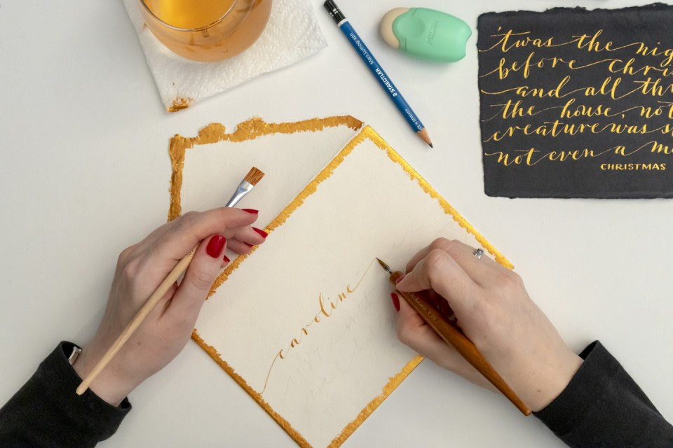 Calligraphing the Envelope