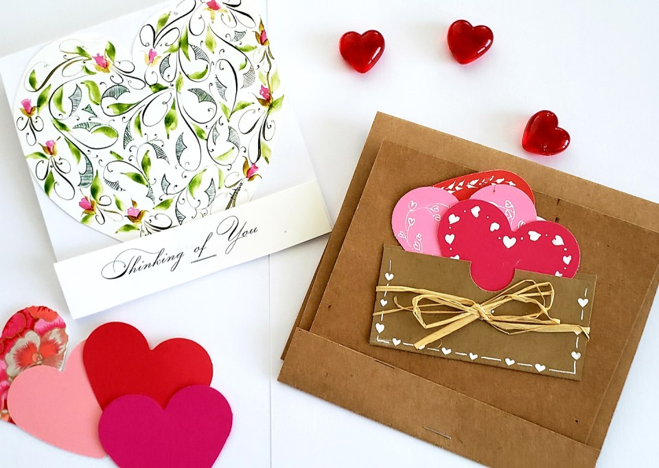 Matchbox Valentine's Day Card Tutorial by Phyllis Macaluso