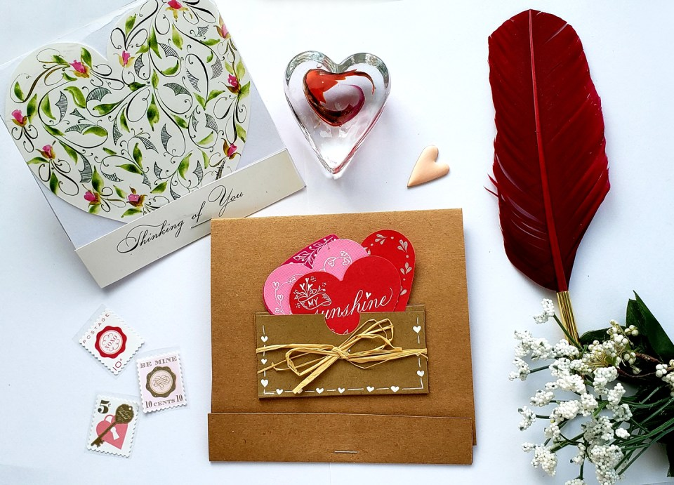 Matchbox Valentine by Phyllis Macaluso