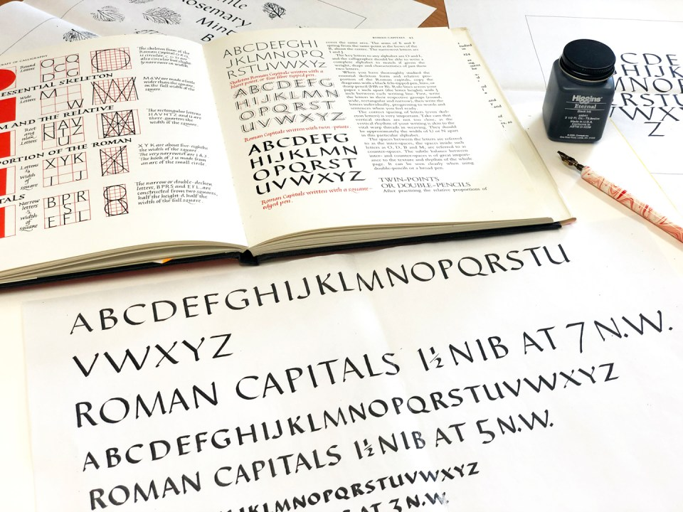 The Craft of Calligraphy via Scribblers