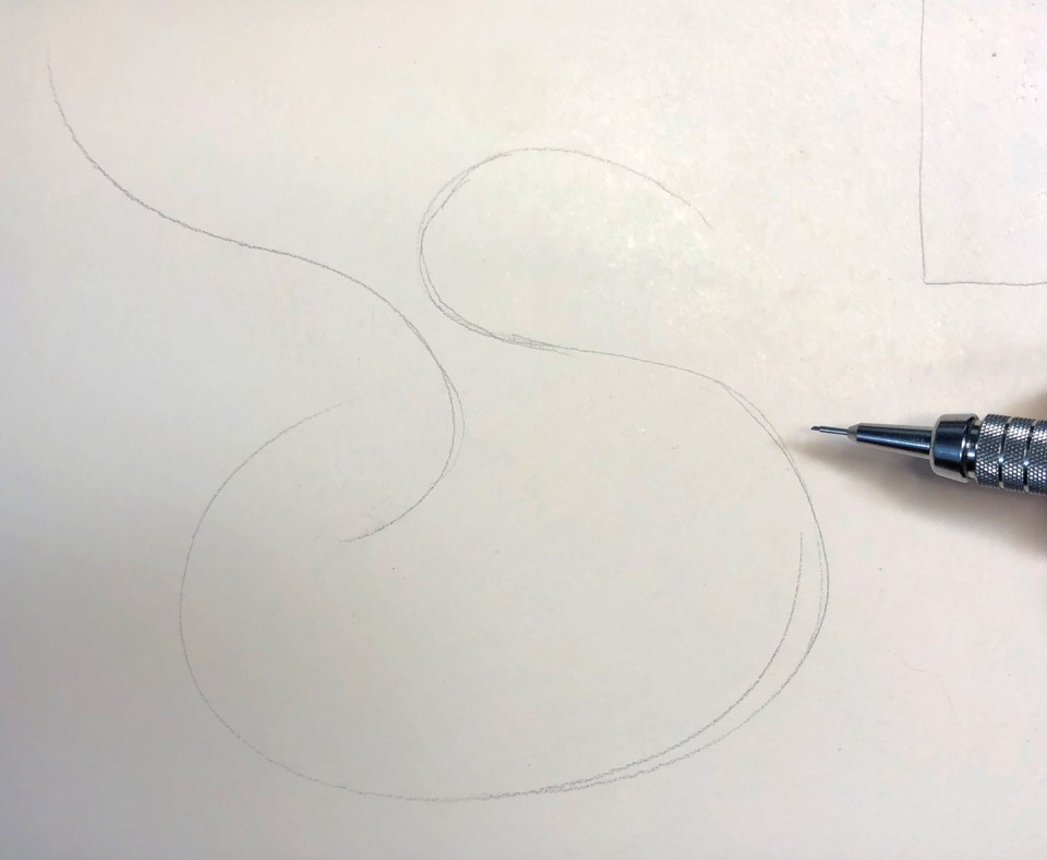 Schin Loong's Flourished Swan Envelope Tutorial