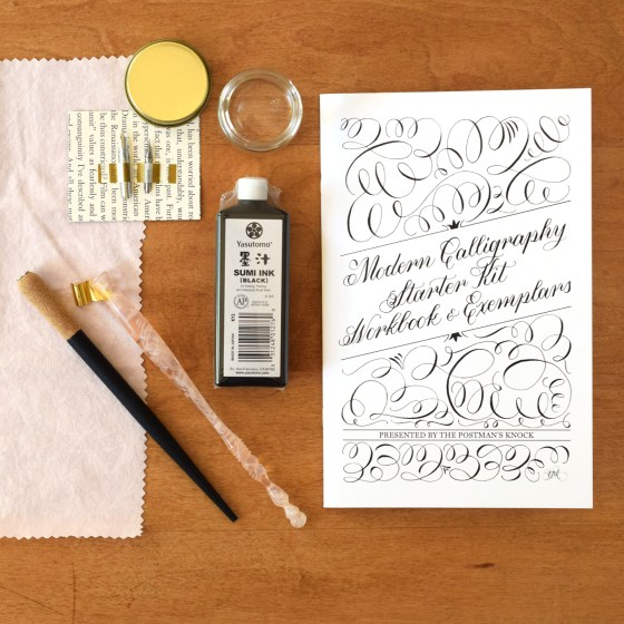 The kit includes everything that you need to experience calligraphy success in style.