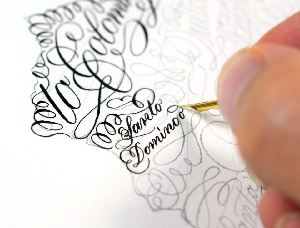 Flourished Calligraphy Art