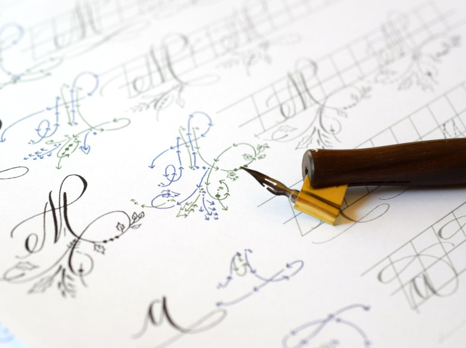 Introducing the TPK Intermediate Modern Calligraphy Online Course