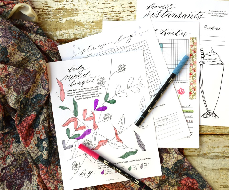 Creative & Collected: An Assortment of Lifestyle Worksheets