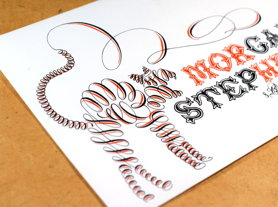 Hissing Cat Halloween Envelope