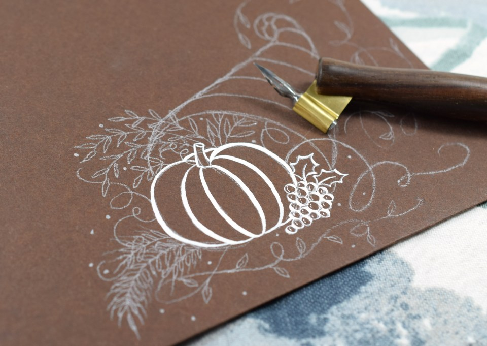 Adding White Ink to the Calligraphy Cornucopia